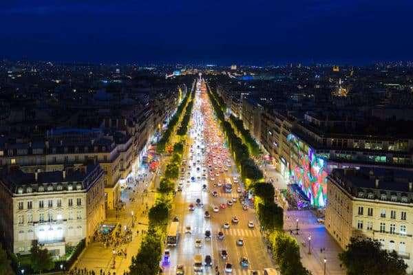 Champs-Elysées, Parigi
