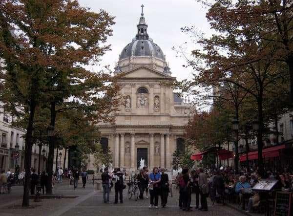 La Sorbona nel Quartiere Latino