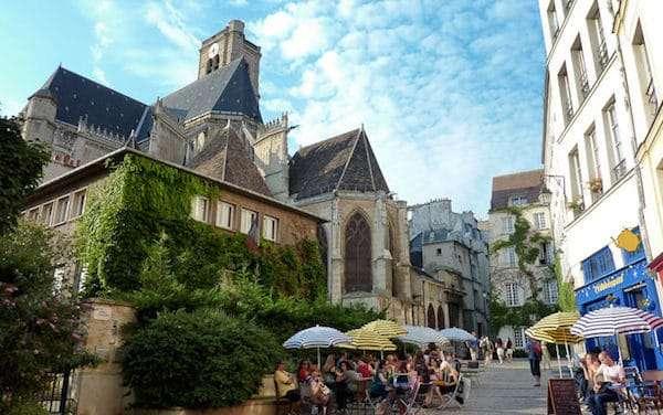 Il quartiere Marais a Parigi