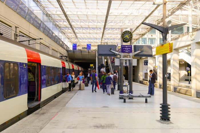 La stazione della RER dell'aeroporto Charles De Gaulle