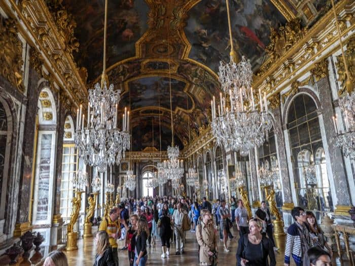 La Galleria degli Specchi a Versailles