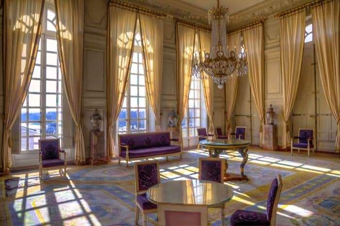 Gli interni del Grand Trianon