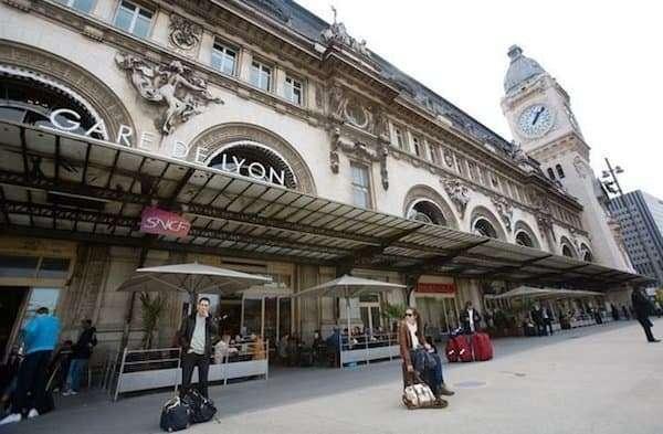 Parigi in treno