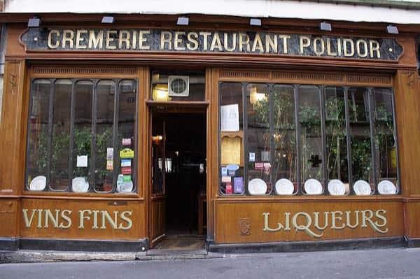 Restaurant Polidor, Parigi