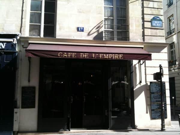 Cafe de l'Empire, Parigi