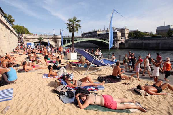 Le spiagge di Parigi
