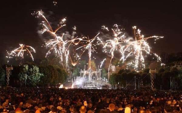 Fuochi d'artificio, Parigi