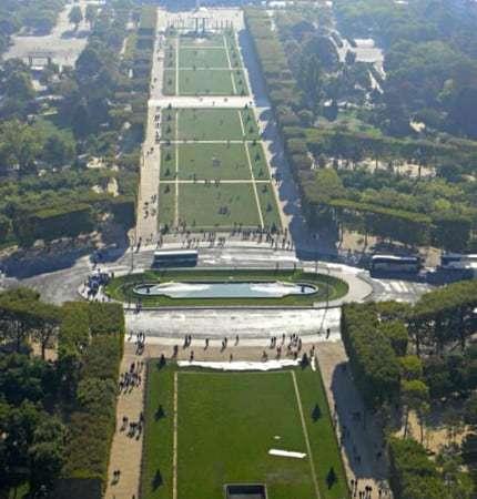 Vista di Parigi