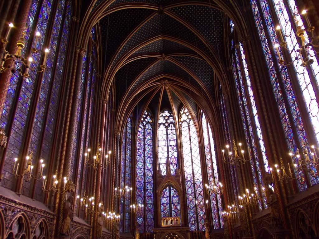 Interno Saint Chapelle