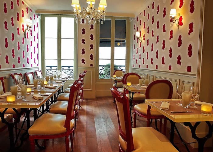 Il ristorante Le Boudoir