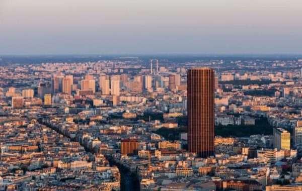 Tour di Montparnasse vista dall'alto