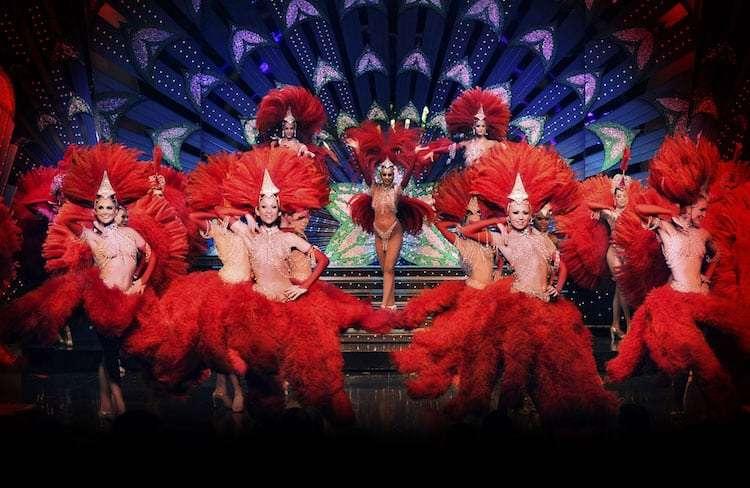 Doriss Girls al Mouline Rouge