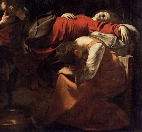 La morte della Vergine di Caravaggio
