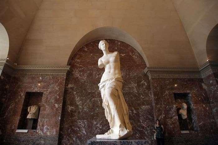 La Venere di Milo al Louvre di Parigi