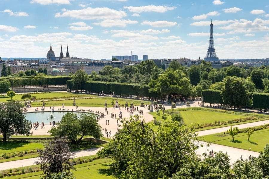 Jardin des Tuileries, Parigi